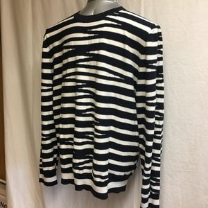 French Connection Striped Sweater - Size XXL